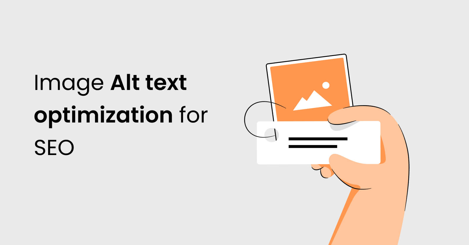 Image Alt text optimization for SEO