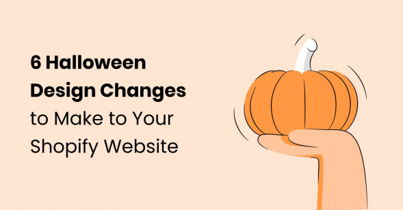 6 Halloween design changes to make to your Shopify website
