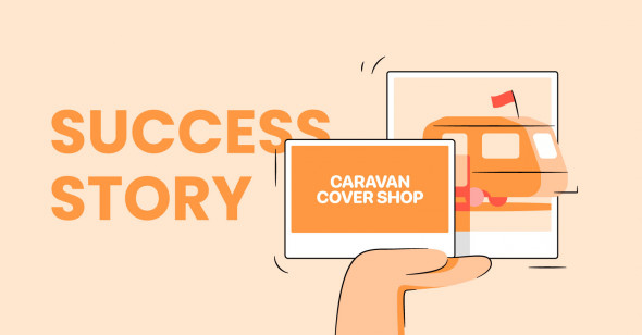 TinyIMG cuts load time by 3 seconds and achieves SEO score of 90 for Caravan Cover Shop