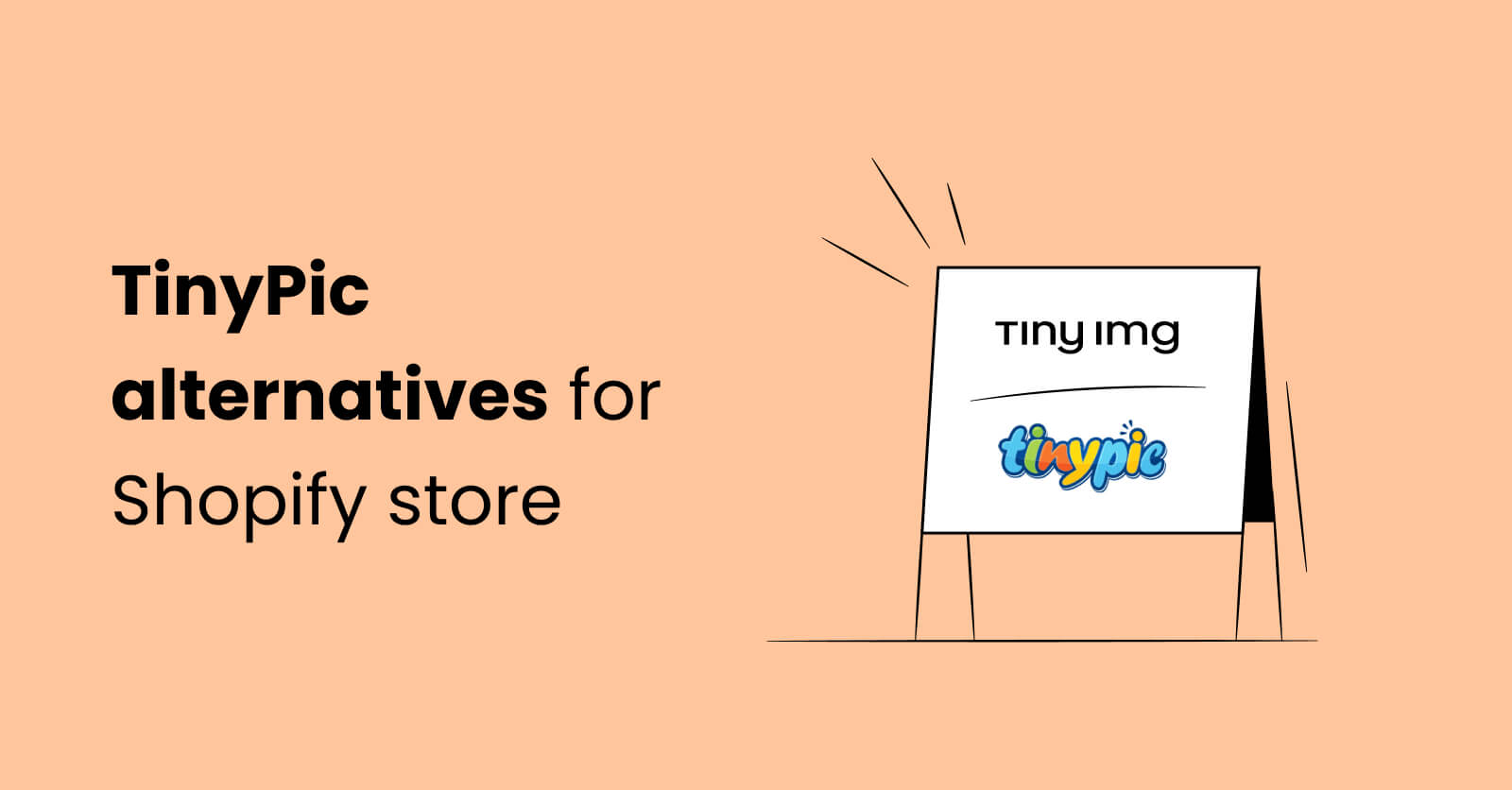 TinyPic alternatives for Shopify store image optimization