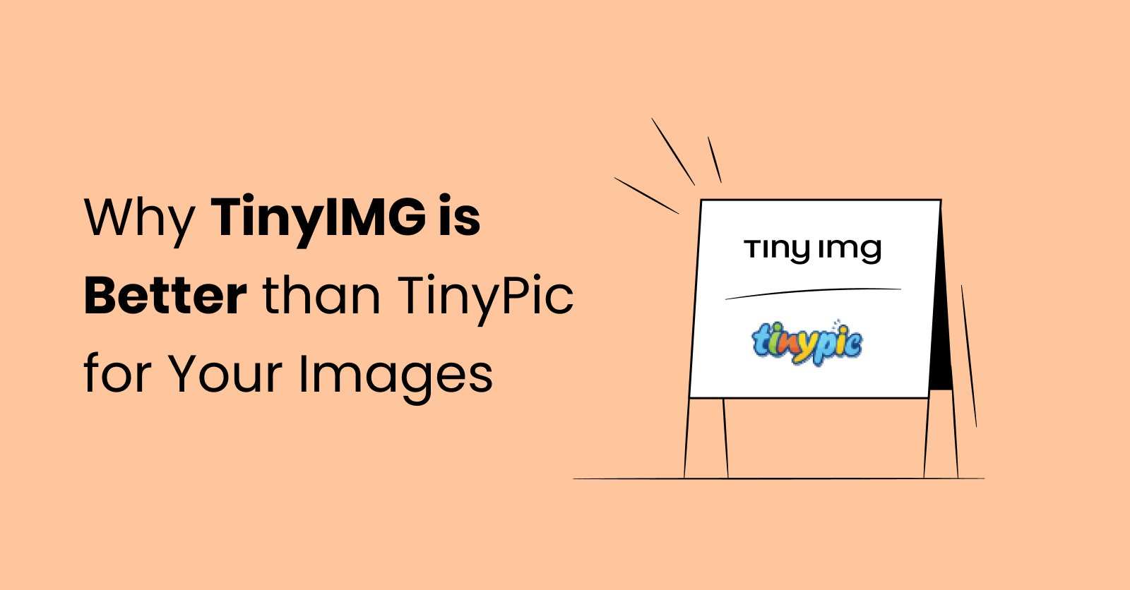 Why TinyIMG is a better alternative to TinyPic for Shopify image compression